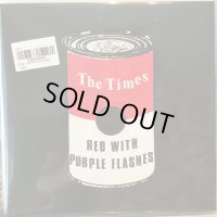 The Times / Red With Purple Flashes
