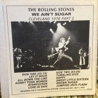 The Rolling Stones / We Ain't Sugar - Cleveland 1978 Part 2