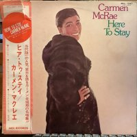Carmen McRae / Here To Stay